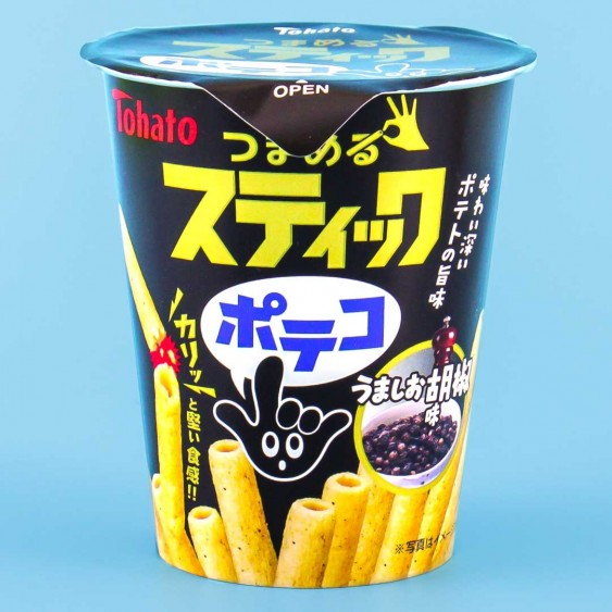 Tohato Poteco Potato Stick Snacks - Savory Pepper