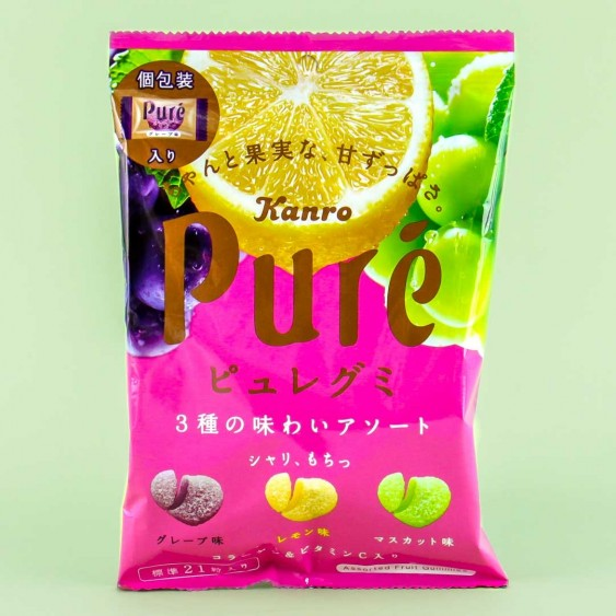 Kanro Puré Gummy - Tangy Fruits
