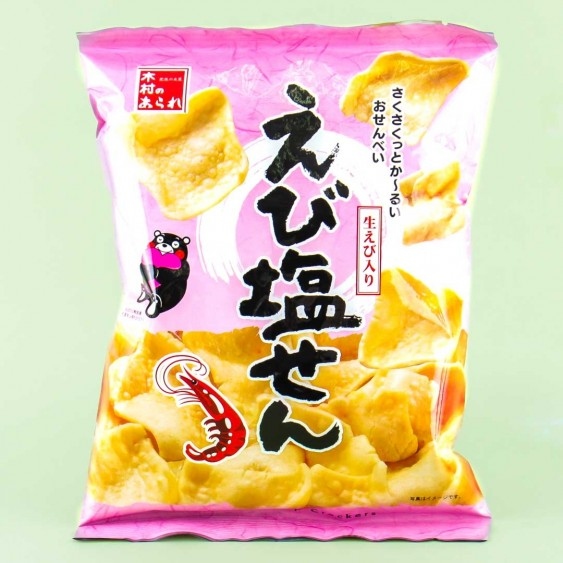 Kumamon Rice Crackers - Shrimp Salt
