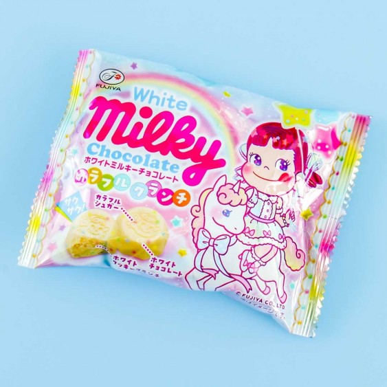 Milky Peko-Chan White Chocolate Colorful Crunch