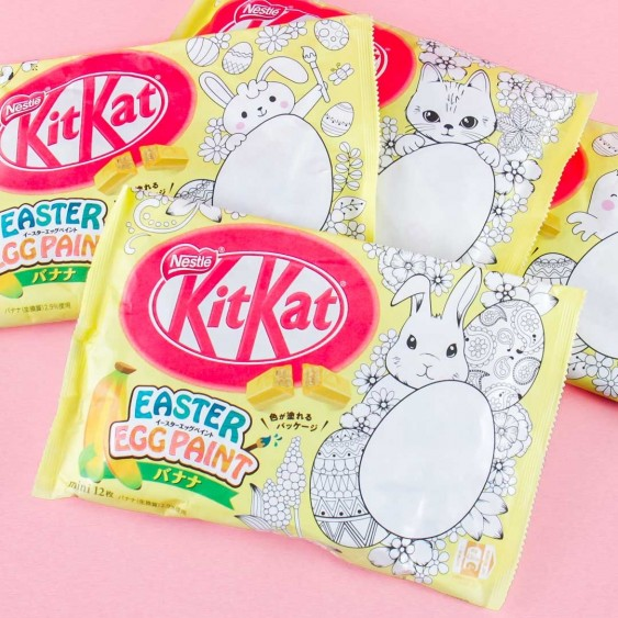 Kit Kat Easter Egg Paint Banana Chocolates
