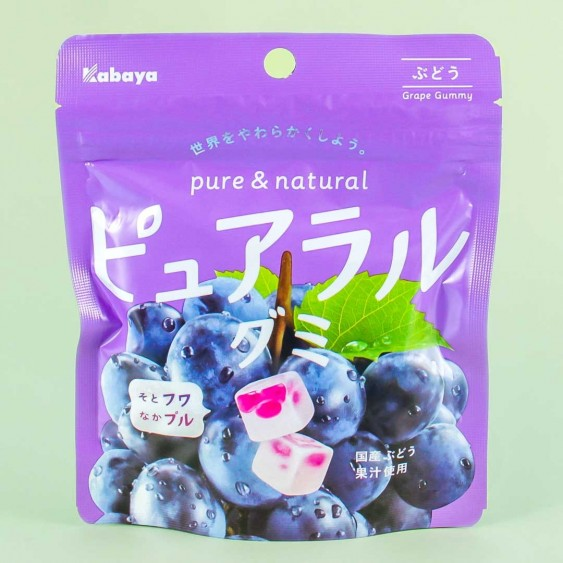 Kabaya Pureral Gummy - Grape