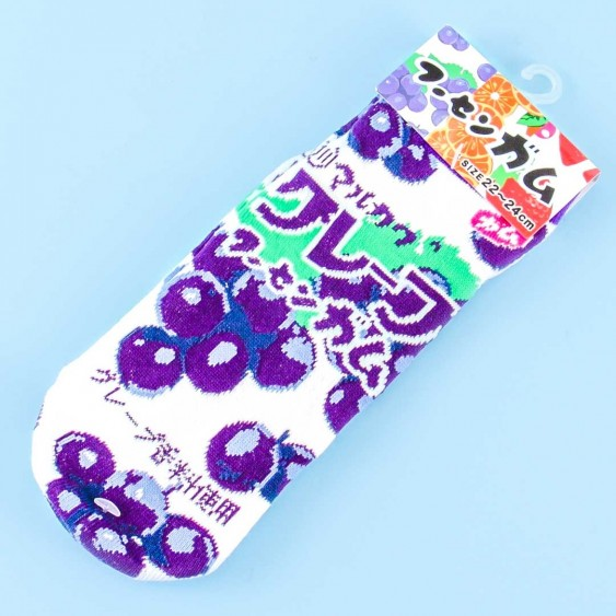 Marukawa Bubble Gum Socks - Grape