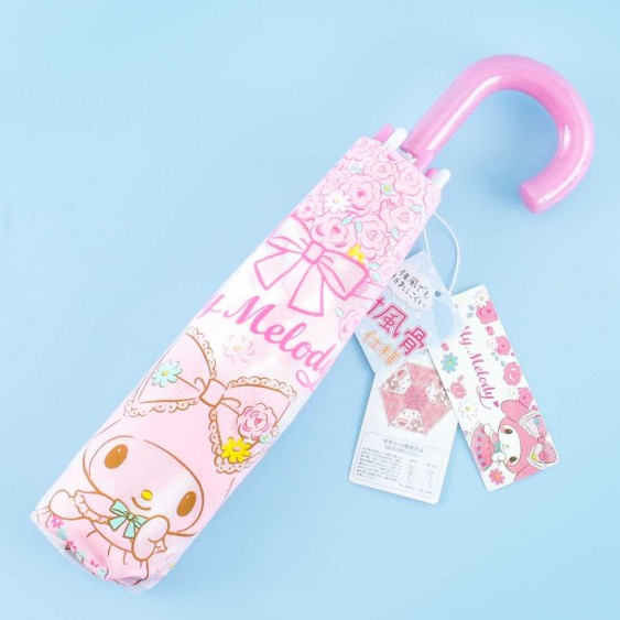 My Melody Spring Blooms Portable Foldable Umbrella