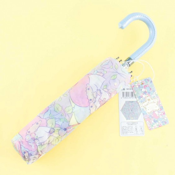 Little Twin Stars Floral Paradise Portable Foldable Umbrella