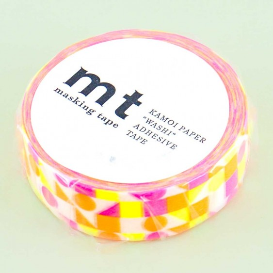 MT Psychedelic Pattern Washi Tape