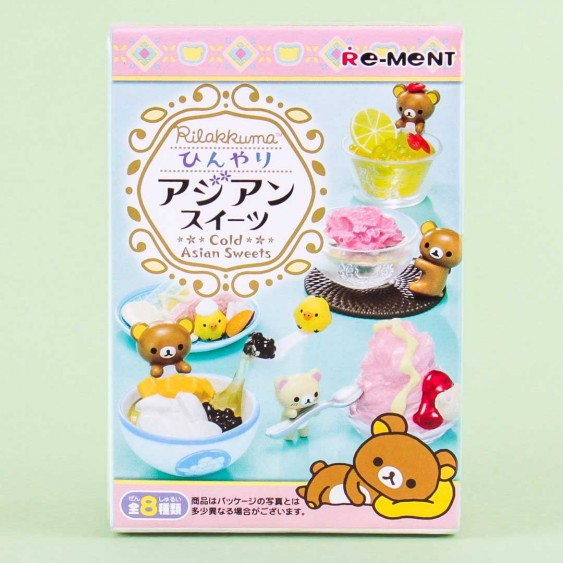 Re-Ment Rilakkuma Cold Asian Sweets
