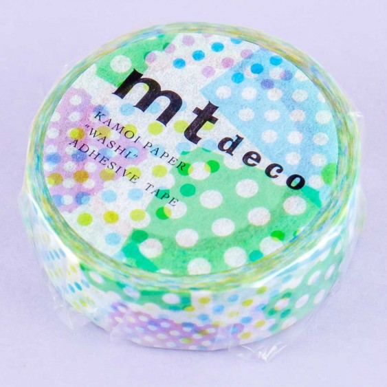 MT Polka Dot Collage Washi Tape