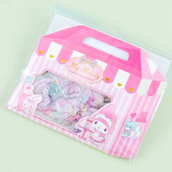My Melody Sweets Sticker Flakes