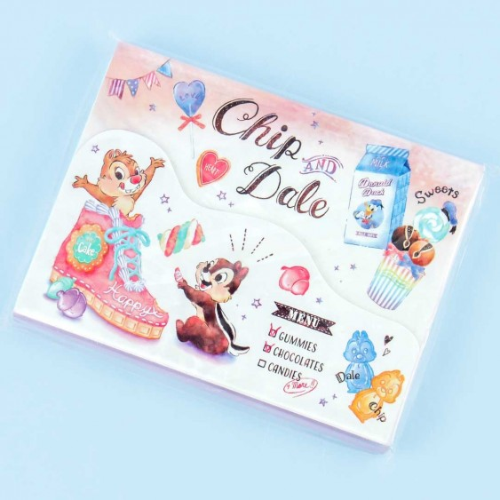 Chip & Dale Notepad