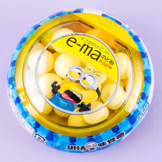 E-ma Screaming Minions Throat Candy - Apple