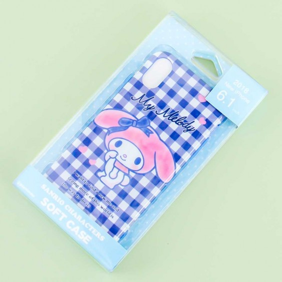 My Melody Gingham Protective Case for iPhone XR / XS