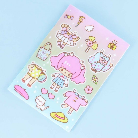 Aiko Kawaii Dress-Up Notebook