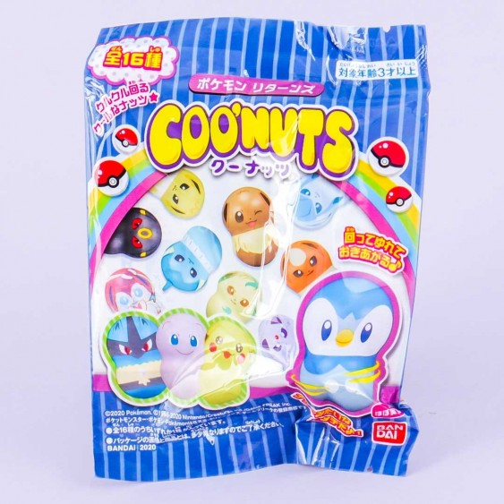 COO'NUTS Pokémon Doll With Gum