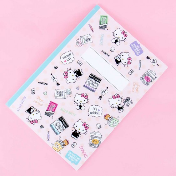 Hello Kitty Snack Time Grid Notebook