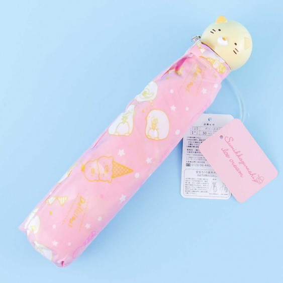 Sumikko Gurashi Ice Cream Collapsible Umbrella - Neko