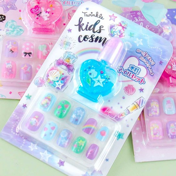 Twinkle Kids Cosmetic Nail Set