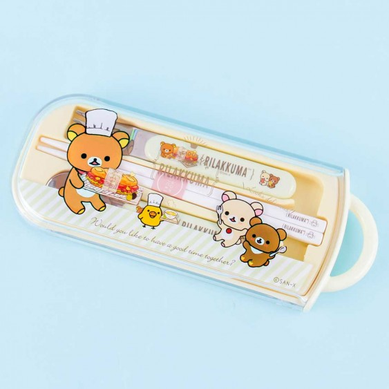 Rilakkuma Delicious Time Utensil Set