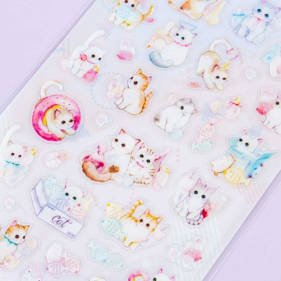 Playful Kitten Stickers