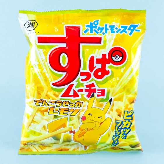 Suppa Mucho Pokemon Potato Chips - Lemon