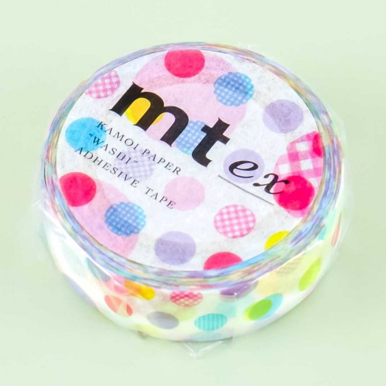 MT Multi-Color Dots Washi Tape Set