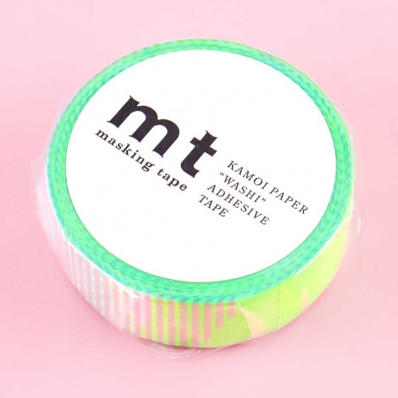 MT Cool Ombré Strips & Dots Washi Tape