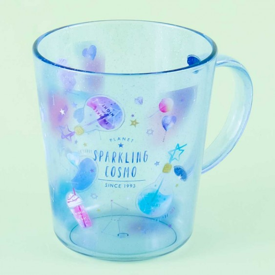 Planet Sparkling Cosmo Glittery Cup