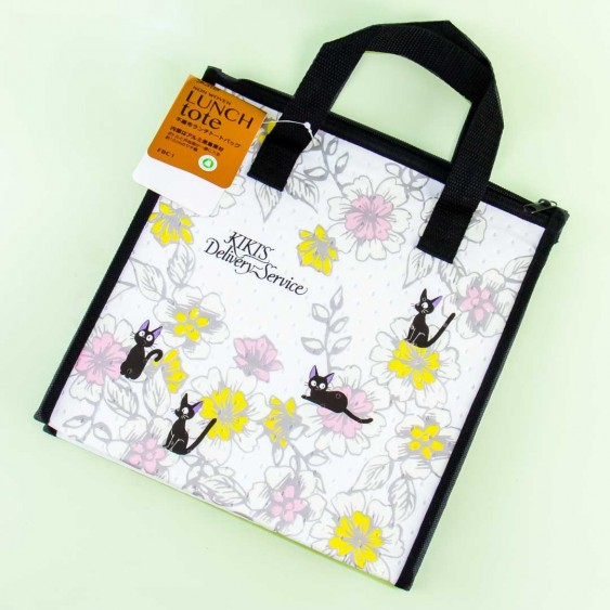 Kiki's Delivery Service Flowery Jiji Insulated Lunch Tote