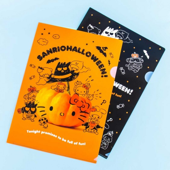 Sanrio Characters Halloween A4 File Folder Set