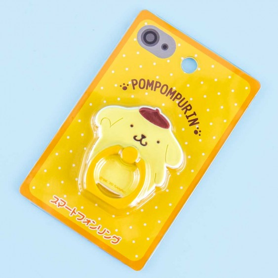 Pompompurin Character Smartphone Ring