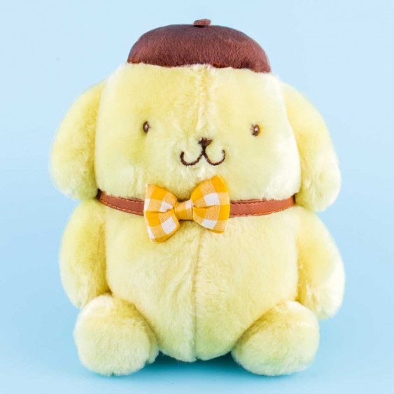 Pompompurin Ribbon Poseable Plushie - Medium