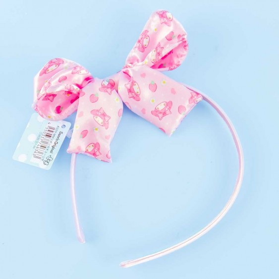My Melody Headband With Strawberry Pink Ribbon