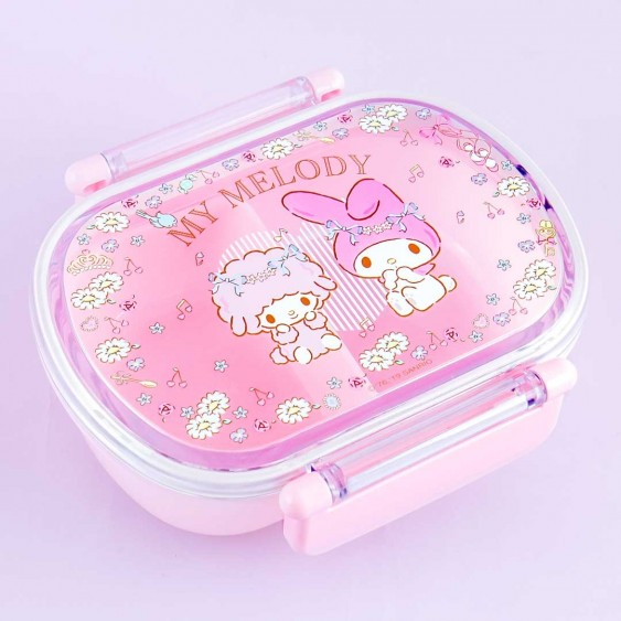 My Melody Spring Flowers Bento Box
