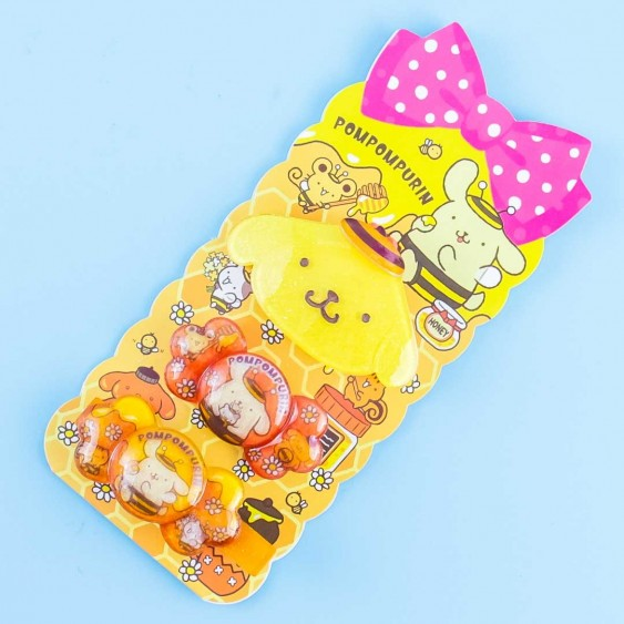 Pompompurin Honey Bee Hair Accessory Set - 3 pcs