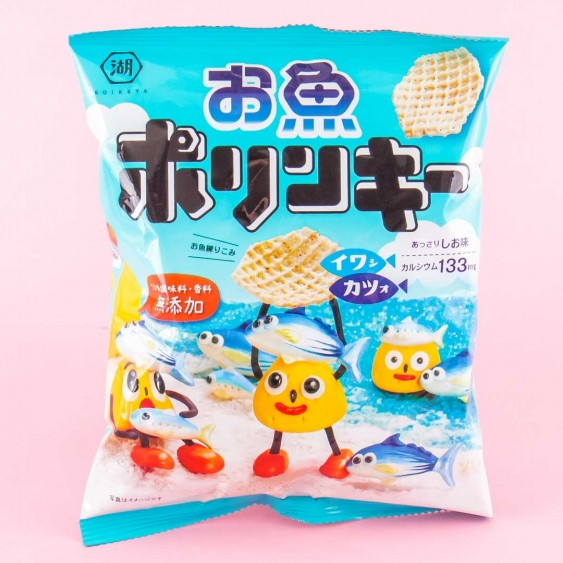 Koikeya Fish Polinky Corn Snacks