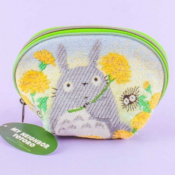 My Neighbor Totoro Marigold Woven Pouch