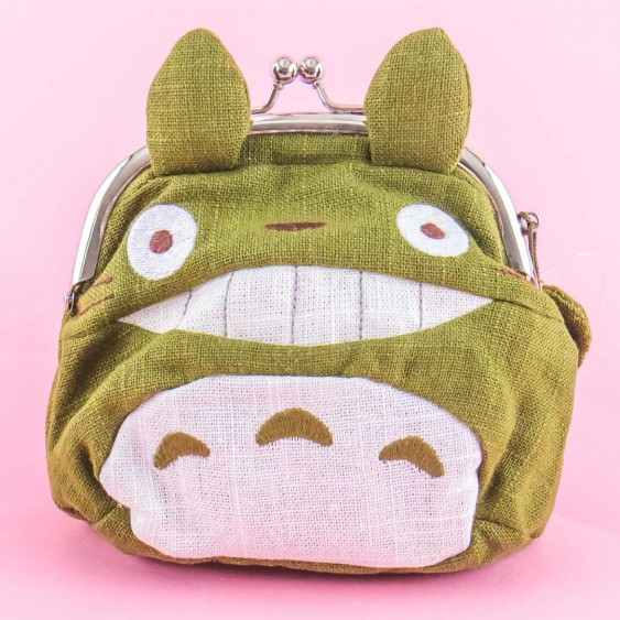 My Neighbor Totoro Die-Cut Clasp Pouch