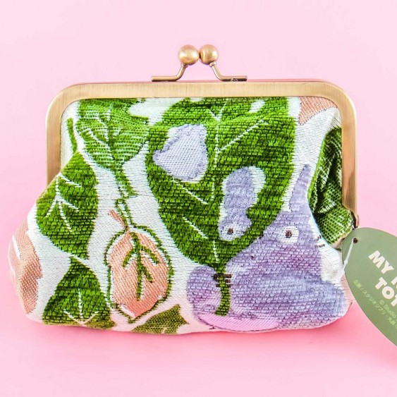 My Neighbor Totoro Leaf Clasp Pouch