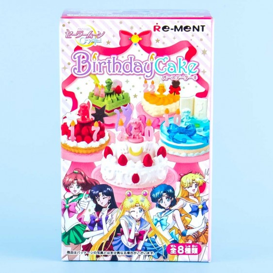 Re-Ment Sailor Moon Crystal Birthday Cake