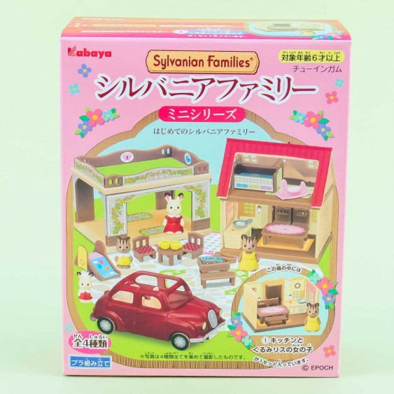 Sylvanian Families Ceder House Assembly Toy With Gum