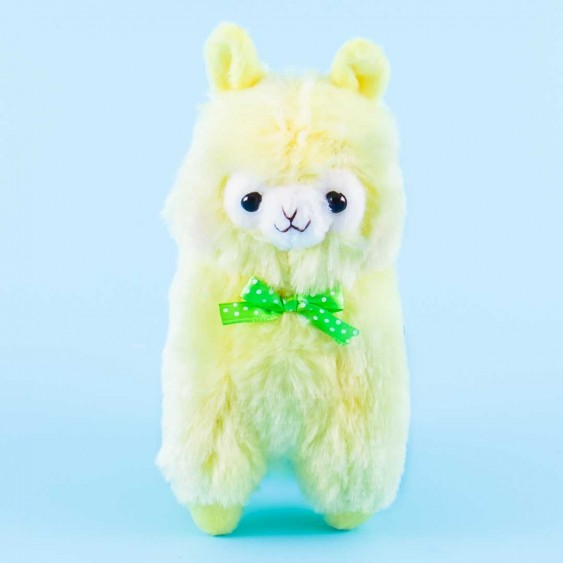 Alpacasso Polka Dot Ribbon Plushie Charm - Ryamasan / Medium