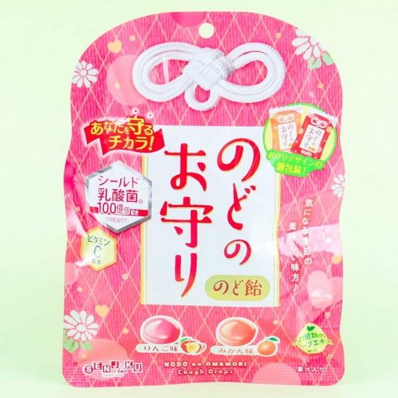 Senjyaku Omamori Fruit Throat Candies