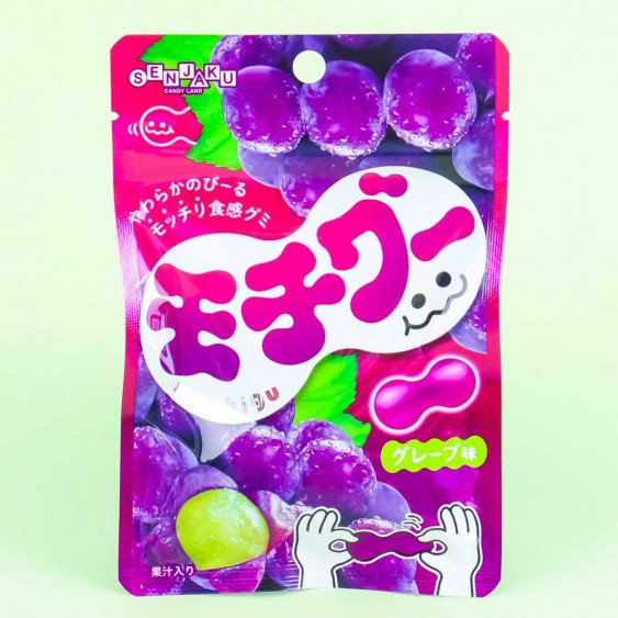 Senjaku Mochigu Grape Gummies