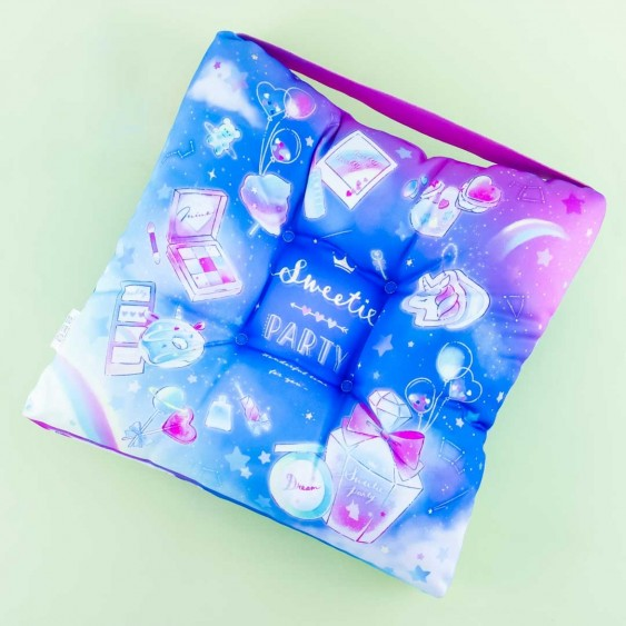 Sweetie Party Cosmetics In Space Seating Cushion