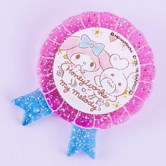 HoneyWorks x My Melody Rosette Badge