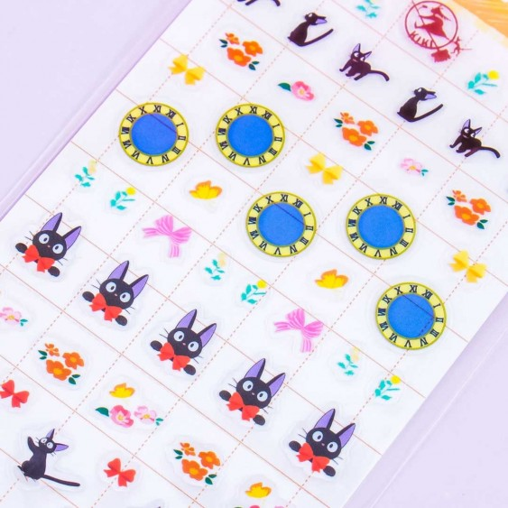 Kiki's Delivery Service Jiji & Ribbon Stickers