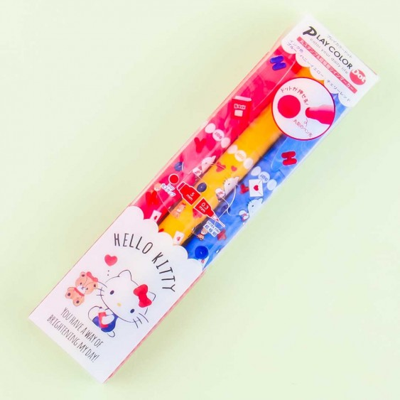 Hello Kitty Play Color Dot Twin Marker Set - 3 Colors