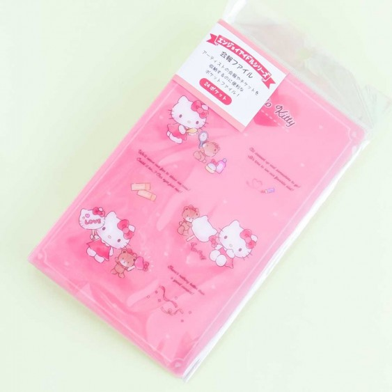 Hello Kitty Playtime Clear Book Folder
