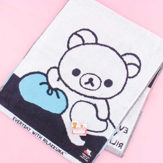 Rilakkuma Rest Time Long Towel