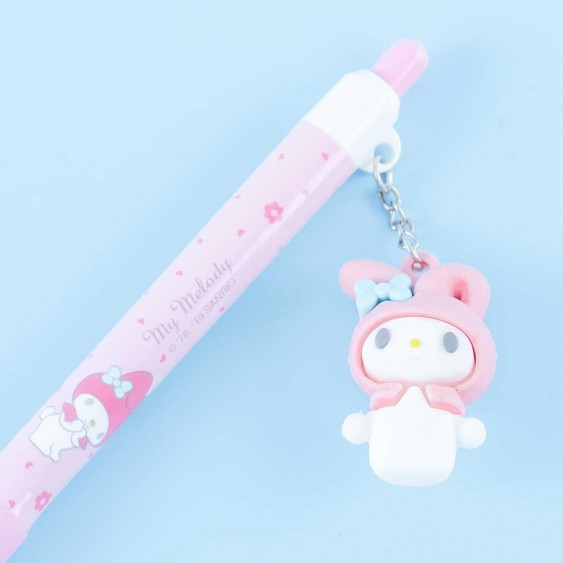 My Melody Click Pen With Charm